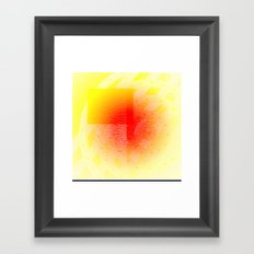 Orange #53 Framed Art Print