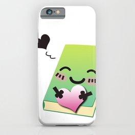 Book Emoji Love iPhone Case