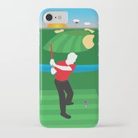 sith iPhone & iPod Cases featuring Sith Golf by BHHS Graphic Design