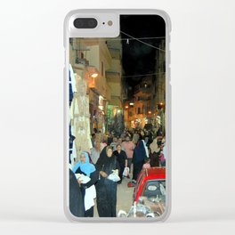 Egyptian Souk, Luxor, Egypt Clear iPhone Case