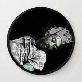 I SLEEP OVER Wall Clock