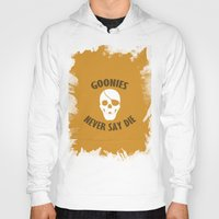 the goonies Hoodies featuring Goonies Never Say Die by Christina