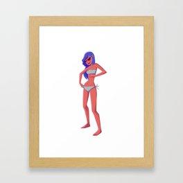 Girly 2 Framed Art Print