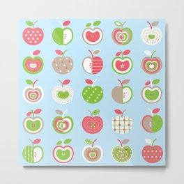 Applelicious Metal Print