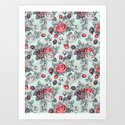 Flowers pattern2 by draw4you