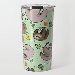 Sloth Party Travel Mug