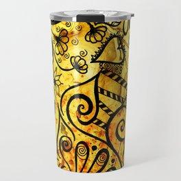Autumn Doodle Travel Mug