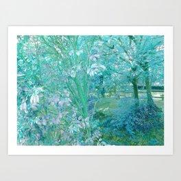 Summer of cristal Art Print