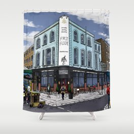 It's a London Thing Shower Curtain