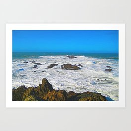 Morning View Art Print
