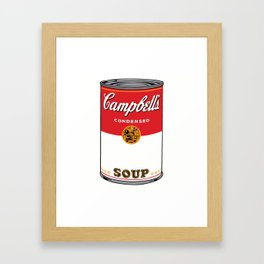 Campbells Soup Framed Art Print