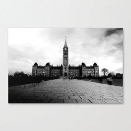 Parliament Hill - B&W Canvas Print