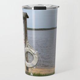 Board at the Shore Travel Mug