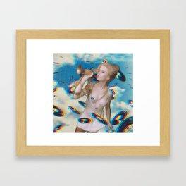 Horn Blower Framed Art Print