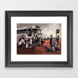 memory1 Framed Art Print