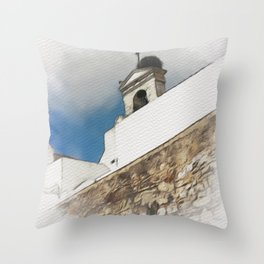 Visions of the Mediterranean Throw Pillow