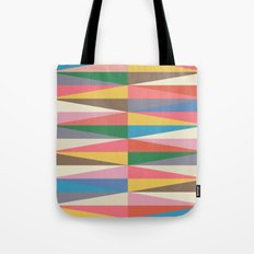 Blooming Triangles Tote Bag