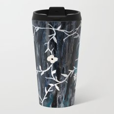 Grey Vines Travel Mug
