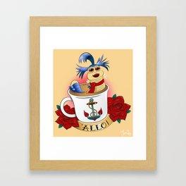 'ALLO! Framed Art Print