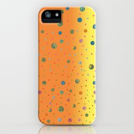 Fusion Orange & Yellow iPhone Case