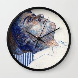 Fraternal Twin Wall Clock