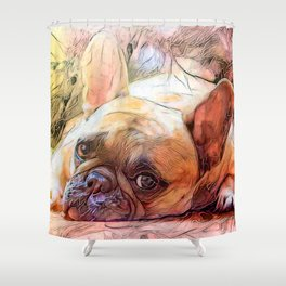 Walkies Now Shower Curtain