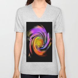 Abstract Perfection 26 Unisex V-Neck