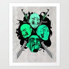 The Mara Art Print
