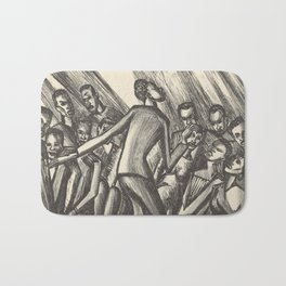 Spirituals by Lillian Richter Bath Mat