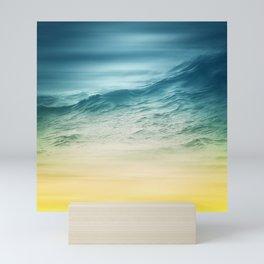 Sunset Waves Mini Art Print