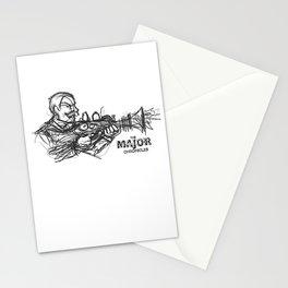 Rough Major Sketch Stationery Cards