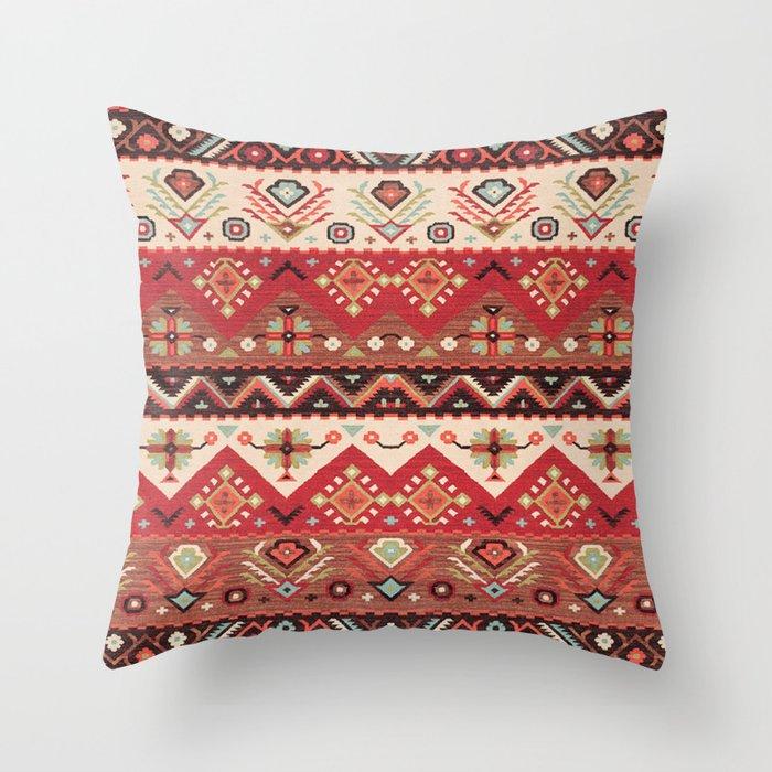 N57 - Bohemian Oriental Traditional Moroccan Original Style Design Throw Pillow