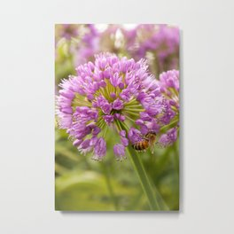 Honey Bee Mine Metal Print
