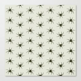 Spiders grey Canvas Print