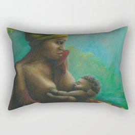 mumma love Rectangular Pillow