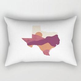 Texas Sunset (V1) Rectangular Pillow
