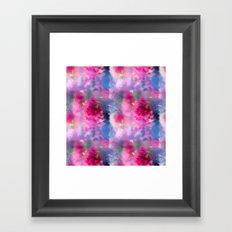 Spring floral paint 1 Framed Art Print