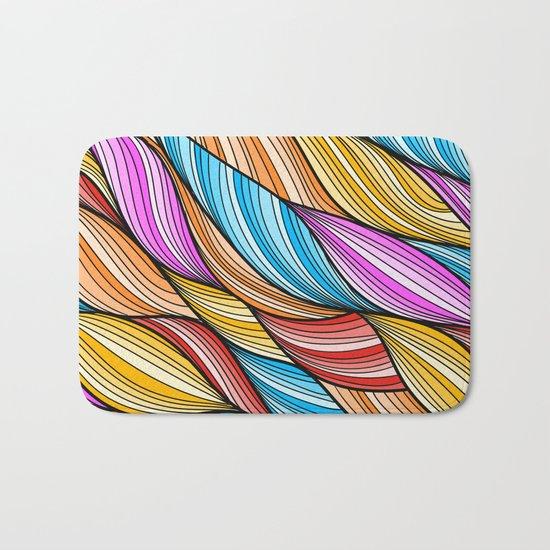 Colorful Fur Bath Mat