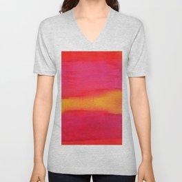 Rothko Inspired III Unisex V-Neck