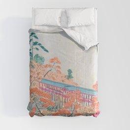 Kobayashi Kiyochika - Sketches of the Famous Sights of Japan - Tsutenkyo - Digital Remastered Edition Comforters