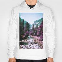 yosemite Hoodies featuring Yosemite Purple by Richard PJ Lambert