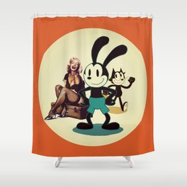 Happy Days (two) Shower Curtain