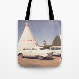 Sleep at the Wigwam Tote Bag