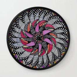 Mandala 009 Wall Clock