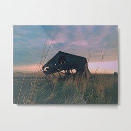 Broken Homes Left To Bones Metal Print