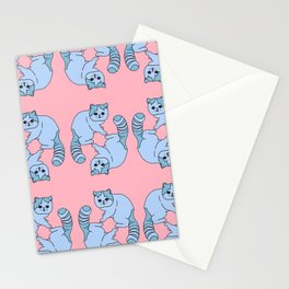 Playful Kittens, 2014. Stationery Cards