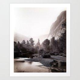 Mount Starr King, Yosemite, No. 69 Art Print