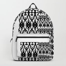Coochie Logo Bl&Wh Backpack