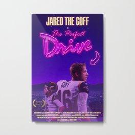 Jared Goff The Perfect Drive Metal Print