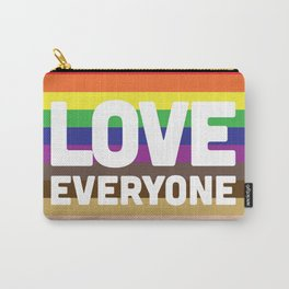 Love Everyone Flag Carry-All Pouch